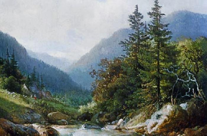 Landschaftsmalerei renaissance  Gemälde der Landschaftsmalerei bei KUNSTKOPIE.DE