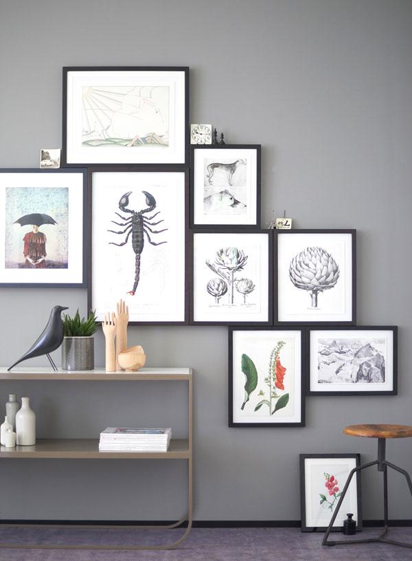 wohnen mit kunst wohnideen von kunstkopie de. Black Bedroom Furniture Sets. Home Design Ideas