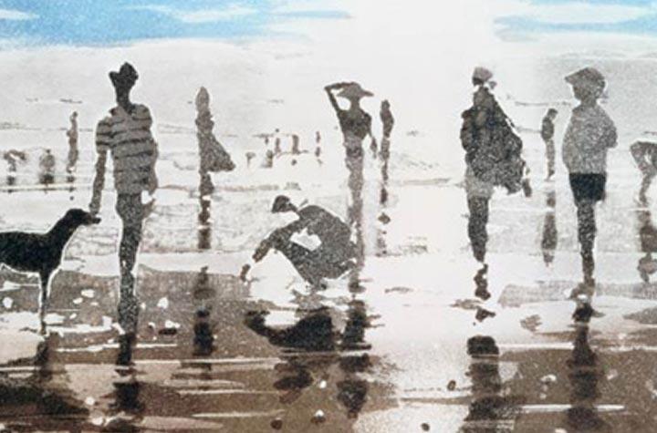 Glasbilder kunstdrucke fotos hinter echtem glas for Glasbilder modern art