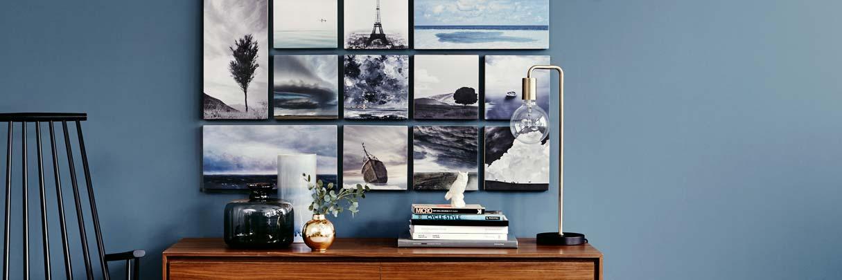 Kunstdrucke  Holzbilder sind echte Kunstdrucke direkt auf Holz. KUNSTKOPIE.DE