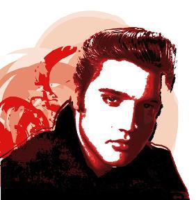 Kunstdruck von  Weedo - Elvis III