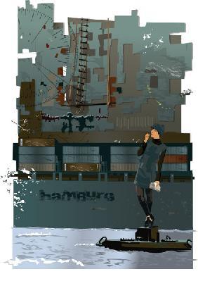 Kunstdruck von  Weedo - Dockland