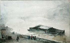 The Seine 1843  on