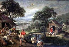 Parable of the Good Shepherd c.1580-90