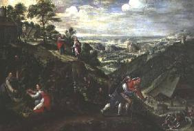 Parable of the Labourers in the Vineyard c.1580-90