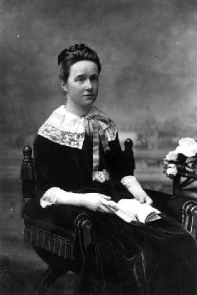Dame Millicent Fawcett, c.1880 (b/w photo)