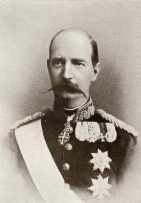 George I, King of Greece, from ''The Year 1912'', published London, 1913 (b/w photo)