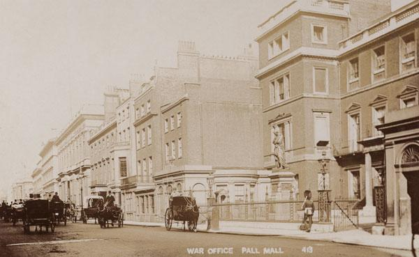 War Office, Pall Mall (20th)