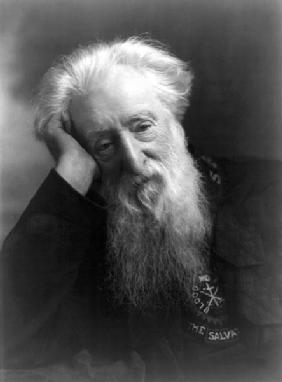 William Booth, from ''The Year 1912'', published London, 1913 (b/w photo)