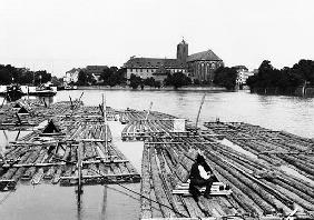 The Oder at Breslau (modern day Wroclaw) Poland, c.1910