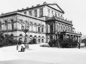 The Theatre at Hannover, c.1910 (b/w photo)