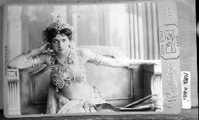 Mata Hari (1876-1917) 1905 (b/w photo)