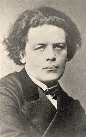 Anton Rubinstein (b/w photo)