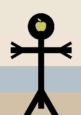 The Son of Man Icon, 2006 (digital)