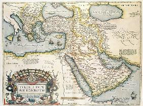 Map of the Middle East, from Theatrvm Orbis Terrarvm