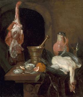 Preparations for a Meal 1664