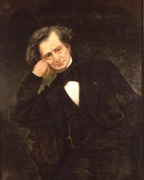Portrait of Hector Berlioz (1803-69)