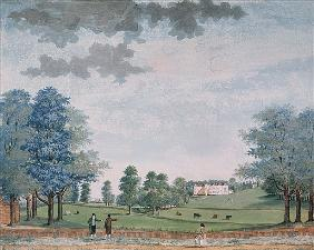 The Great House and Park at Chawton, c.1780