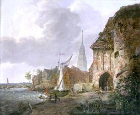 The March Gate in Buxtehude 1830