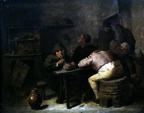 Interior with Smokers