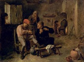 Tavern Scene, or The Village Fiddler 1634-8