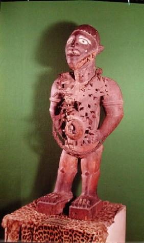Fetish figure with nails, Bakongo Population 16th-20th