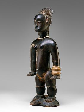 Standing female figure, Guro, Ivory Coast, 19th-20th century