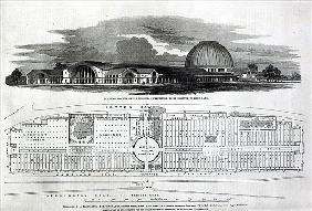 Building for the Great Industrial Exhibition