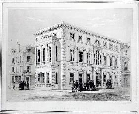 The Gresham Club; engraved by J.R Jobbins, c.1845-50