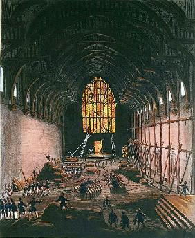 The Interior of Westminster Hall