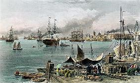 Port of New Orleans; engraved by D.G. Thompson