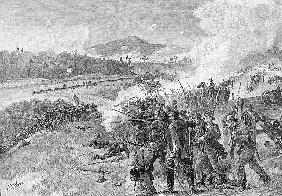 The Battle of Resaca, Georgia, May 14th 1864, illustration from ''Battles and Leaders of the Civil W