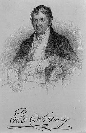 Eli Whitney; engraved by D.C Hinman