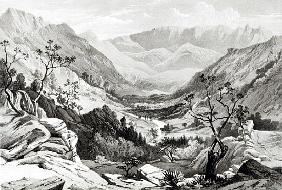 View between Senafe and Rahaguddy ; engraved by James Ferguson