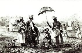 Negroes Traders with Children, from ''Voyage a Surinam'',1839