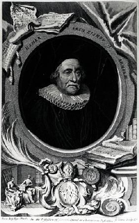 James Ussher; engraved by George Vertue
