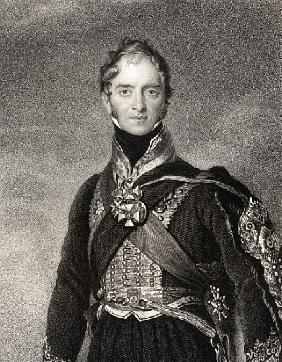 Henry William Paget, 1st Marquess of Anglesey; engraved by
