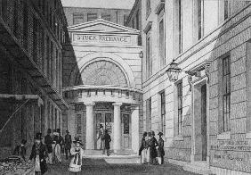 Stock Exchange, London, from ''Metropolitan Improvements; or London in the nineteenth century'', c.1