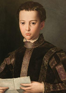 Portrait of Francesco I de' Medici (1541-87) as a Young Boy 1551