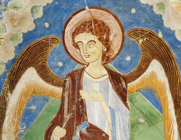 Angel from the east wall