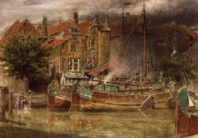 View on the Canal, Dort 1882