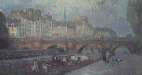 The Pont Neuf and the Quai de la Monnaie, Paris
