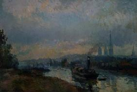 Tug-boats at Rouen 1903