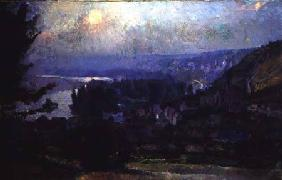 View of Vetheuil 1897