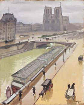 Regentag in Paris 1910