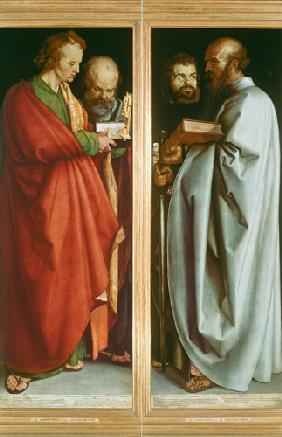 St. John with St. Peter and St. Paul with St. Mark 1526
