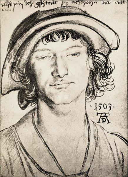 A.Dürer, Portr.of 18-year-old Youth