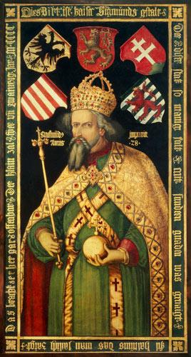 Emperor Sigismund, Holy Roman Emperor, King of Hungary and Bohemia (1368-1437) c.1600