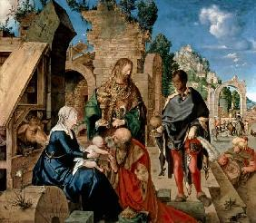 Albrecht D�rer - Adoration of the Magi