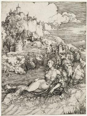The Sea Monster, The Abduction of Amymone 1498
